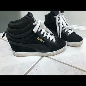 Puma Wedge Heel High Top sneakers - Black - 6